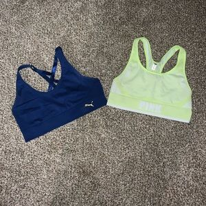BUNDLE OF PUMA & PINK SPORTS BRAS